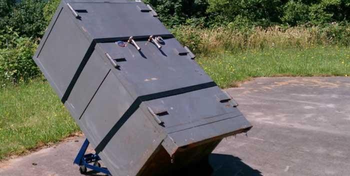 حمل گاوصندوق و باربری و حمل بار سنگین