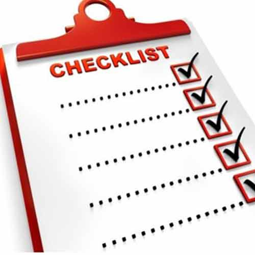 چک لیست برای برنامه ریزی اسباب کشی