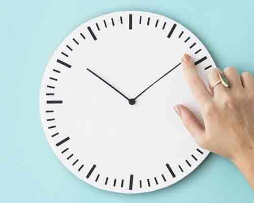 ساعت مناسب جابجایی